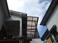 S様邸 ベランダ波板交換工事(兵庫県・尼崎市)