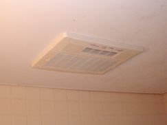 A様邸 浴室暖房乾燥機(電気式)取付工事(兵庫県・西宮市)