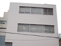 (株)堀茂食糧商事様 本社ビル塗装工事(大阪府・大阪市)